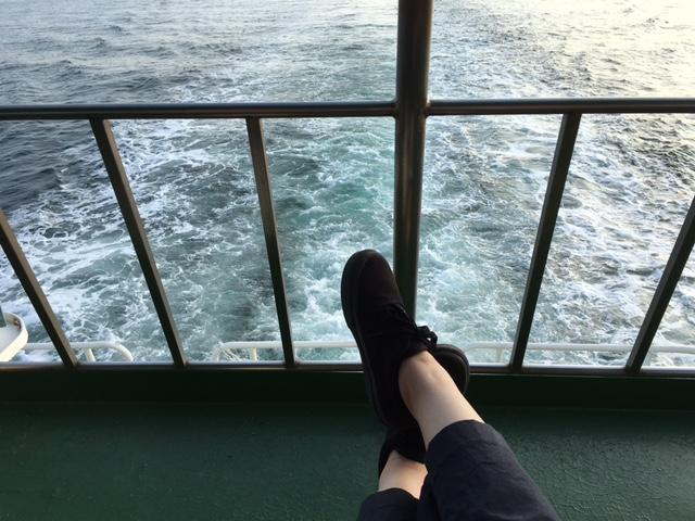 高松から女木島へ