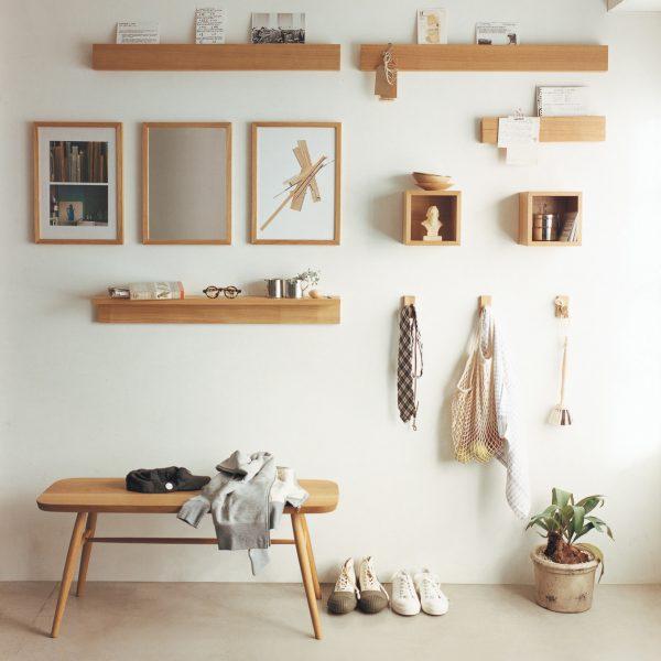壁につけられる家具シリーズ