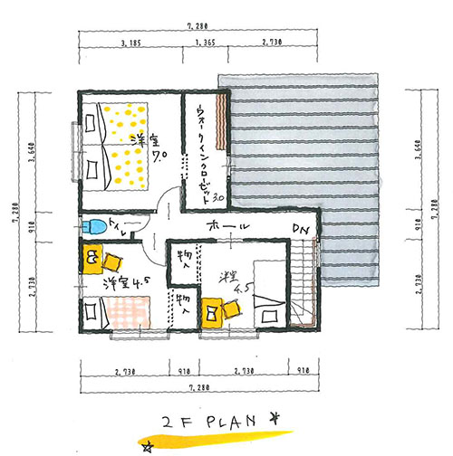 30.5坪のお家